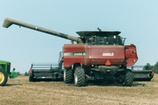 A Typical Harvest Scene