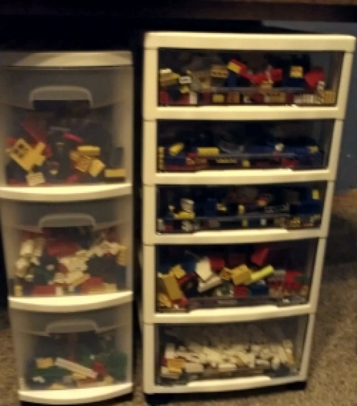 Cheap Lego Storage Solutions