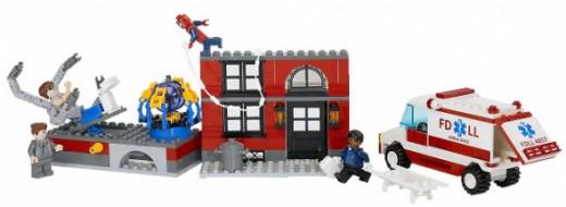 Spiderman Lego Set For Kids