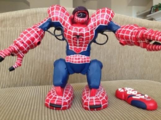Remote Contro Spiderman Toys