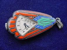 Art Deco Vintage Photo Locket