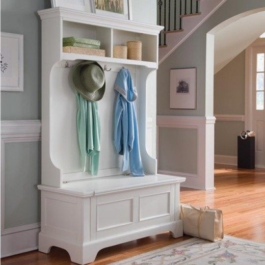 Entryway Hall Tree Bench