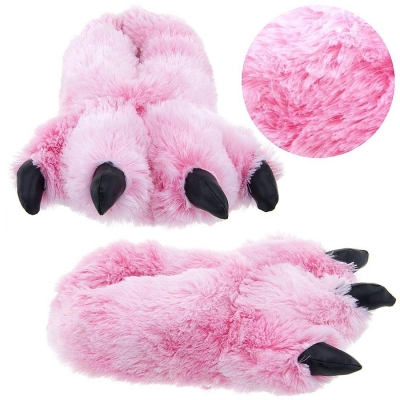 Favorite Big Claw Fuzzy Slippers