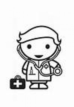 Free Kids Doctor Coloring Pages