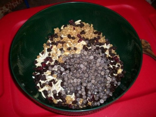 Chocolate Chips in Homemade Hot Cereal