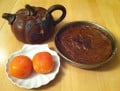 Persimmon Pudding - an Autumn Delight