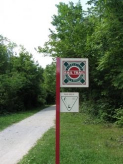 The Zionsville Rail Trail