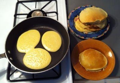 Jet lag pancakes