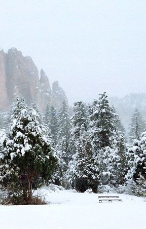 One of many rock formations at Glen Eyrie