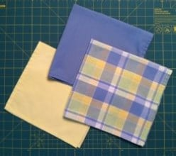 Make Your Own Cloth Napkins to Match Your Kitchen Decor