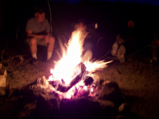Sitting Around the Campfire