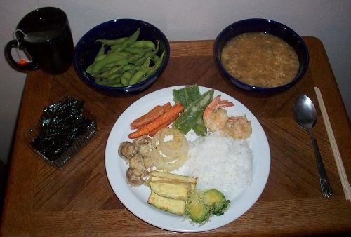 Complete Japanese Dinner