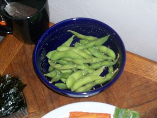 Soybeans or Edamame