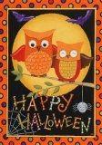 Polka Dot Owl Spider Flag available at Amazon.com