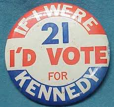 John F. Kennedy 1960 Campaign Button