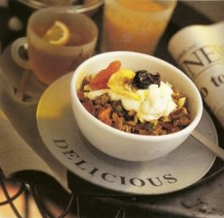 Granola with Dried Fruit.
