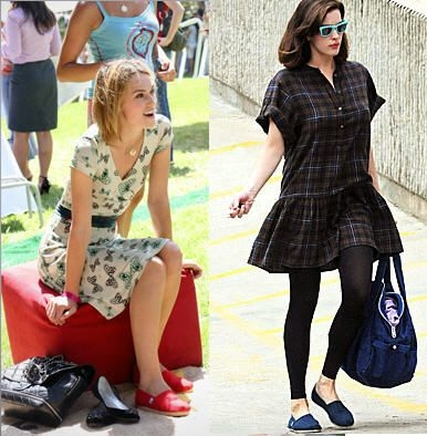 Kiera Knightly & Liv Tyler in TOMS Shoes