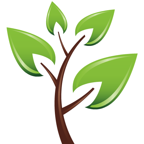 Free Earth Day clip art -- green leaves