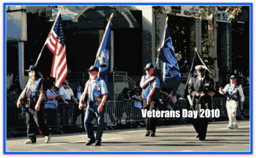 Veterans Day Parade,  San Jose CA