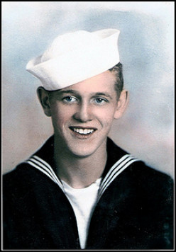 Dwight Watson - United States Navy WWII ... My father-in-law whose older brother was KIA during WWII. Dwight's oldest son and his grandson (my eldest son) are both namesakes of the brother lost at war.