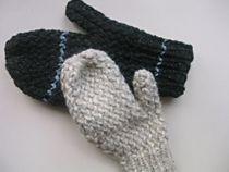 Free Knitting Loom Mittens Pattern