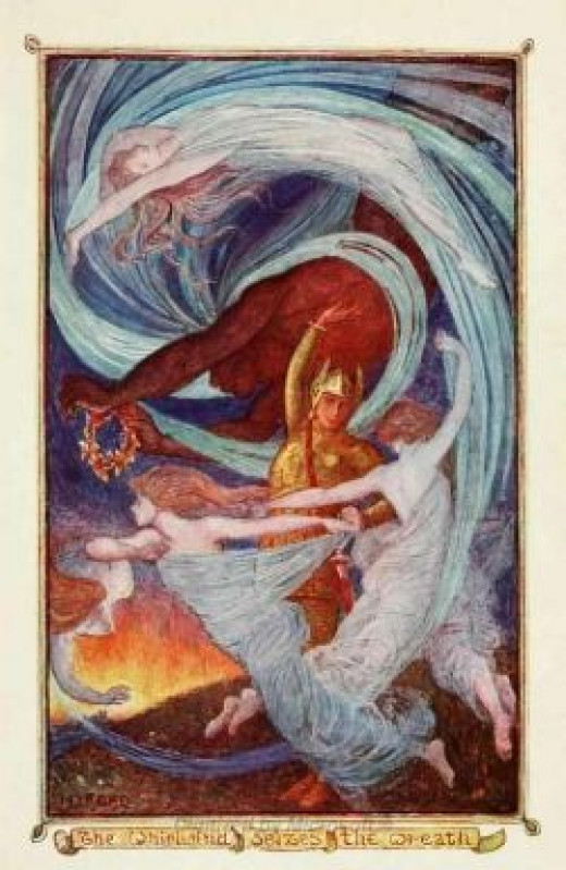 H. J. Ford - illustration from the Violet Fairy Book