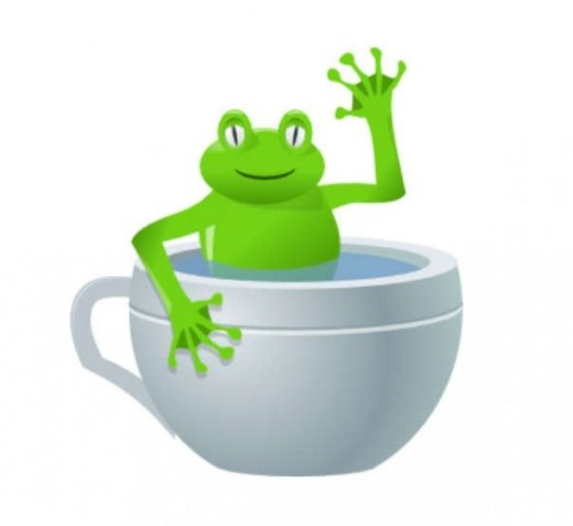 Symbolism of frogs is one of my favorite themes