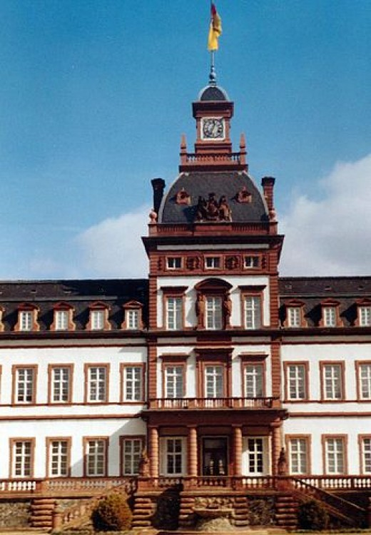 This is where the personal story of brothers Grimm started - Philippsruhe Palace of Hanau, the birth town of Jakob and Wilhelm Grimm