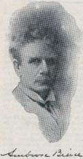 Ambrose Bierce and his signature
