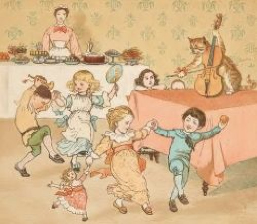 Randolph Caldecott's Hey, Diddle Diddle
