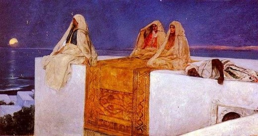 Jean-Joseph-Benjamin-Constant-orientalist-Arabian-Nights