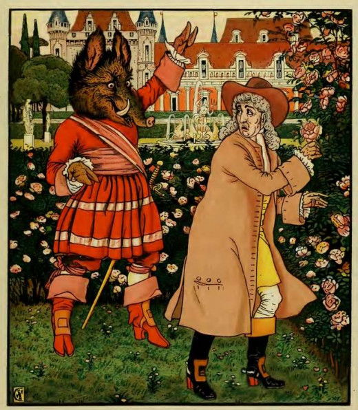 Illustration by Walter Crane