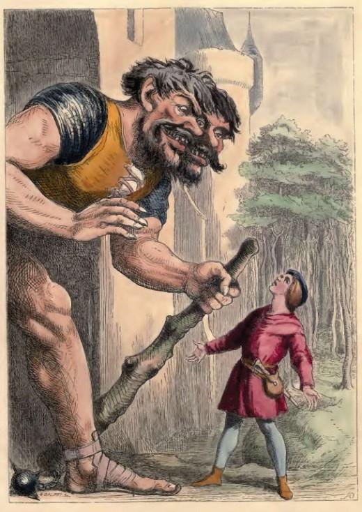 Jack The Giant Killer by Richard 'Dicky' doyle