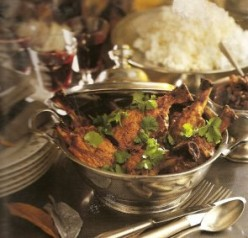 Indian-Style Lamb with Dried Figs.