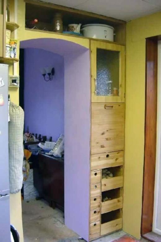 Bespoke Built in Kitchen Larder