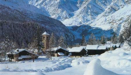 Aosta as it looks most of the year. Aosta is a winter playground.