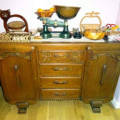How to DIY guide for restoring drawers in an old sideboard to make them run smoothly