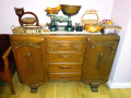 Restoring Drawers in an Old Sideboard to Make Them Run Smoothly Again