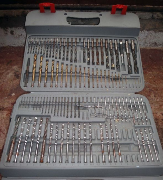 Drill and Bit Set