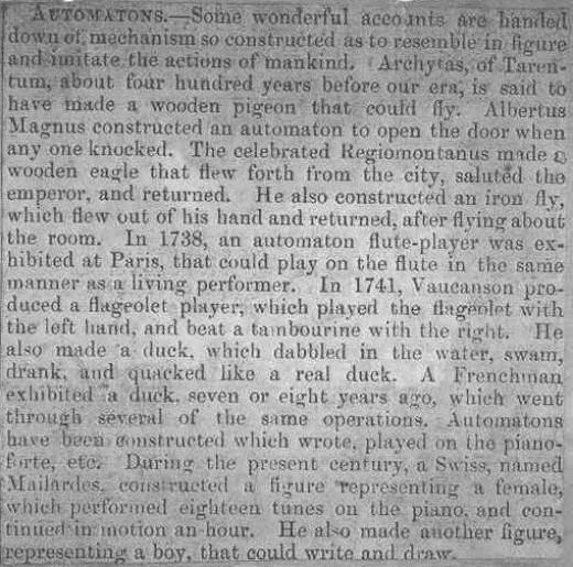Victorian view on Automations