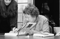 Julia Child, Miami Book Fair International, 1989 Author MDCarchives Courtesy Wikimedia Commons