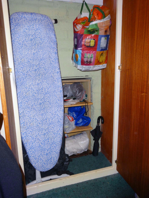 A cupboard within a cupboard
