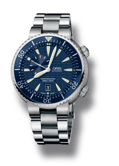Oris Diver's Blue