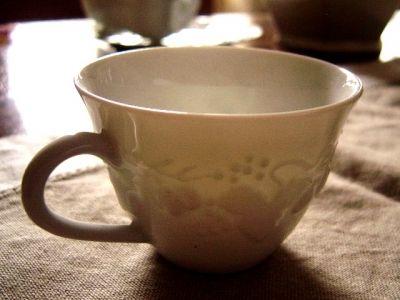 Limoges Porcelain Cup