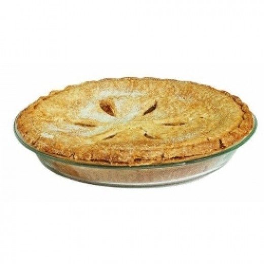 Pyrex pie dish available on Amazon.com