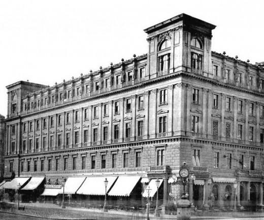 Ephrussi Palace, Vienna date 1888 by Wiener Bauindustrie-Zeitung