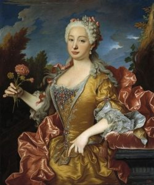 Queen Barbara of Portugal (1711-1758)