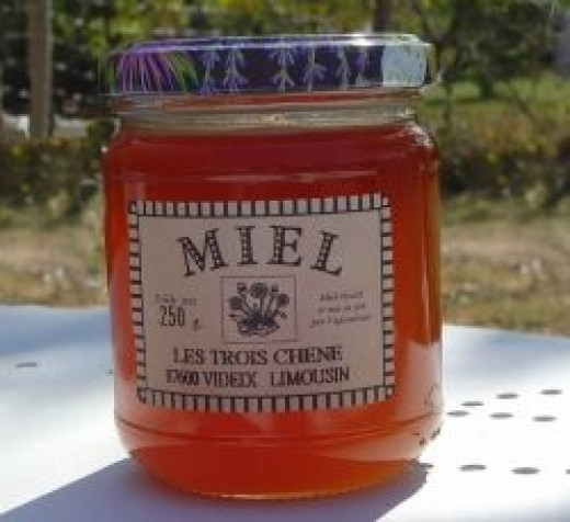 Honey from Les Trois Chenes