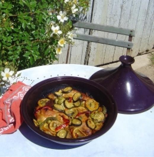 My Tajine and tagine pot