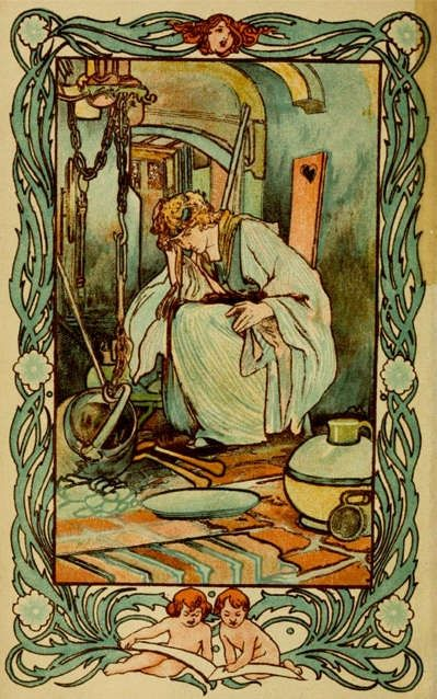 Cinderella by Charles Robinson, PD licence